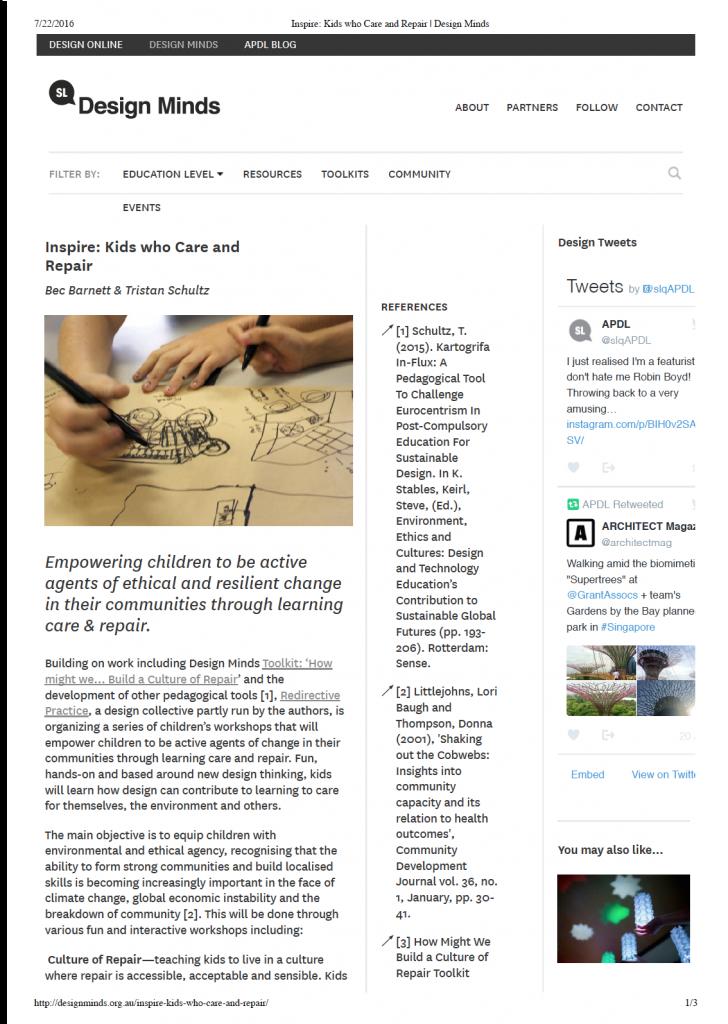 Designminds Paper