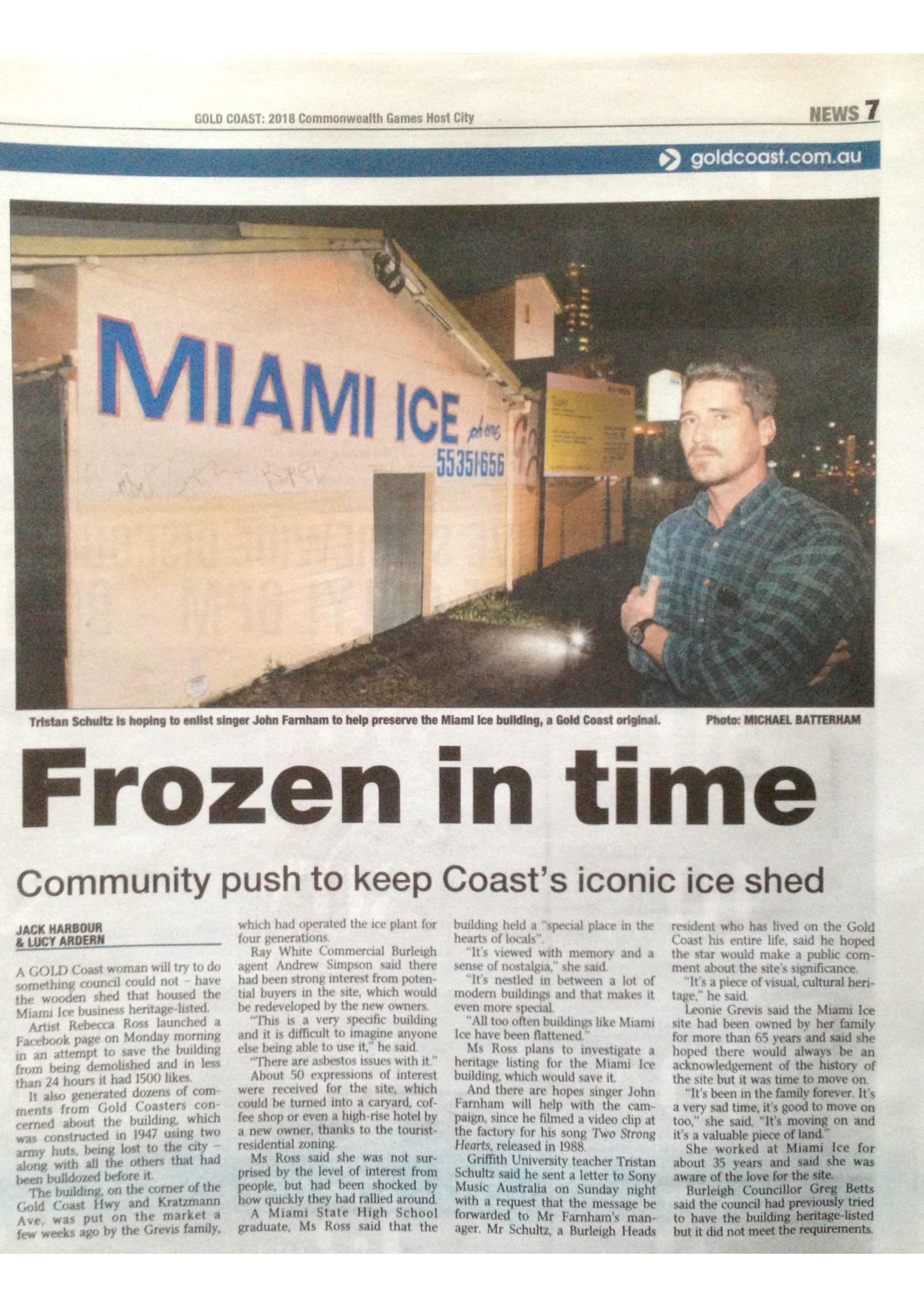 Miami Ice Paper Clip