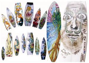 Surfboard Asstd3