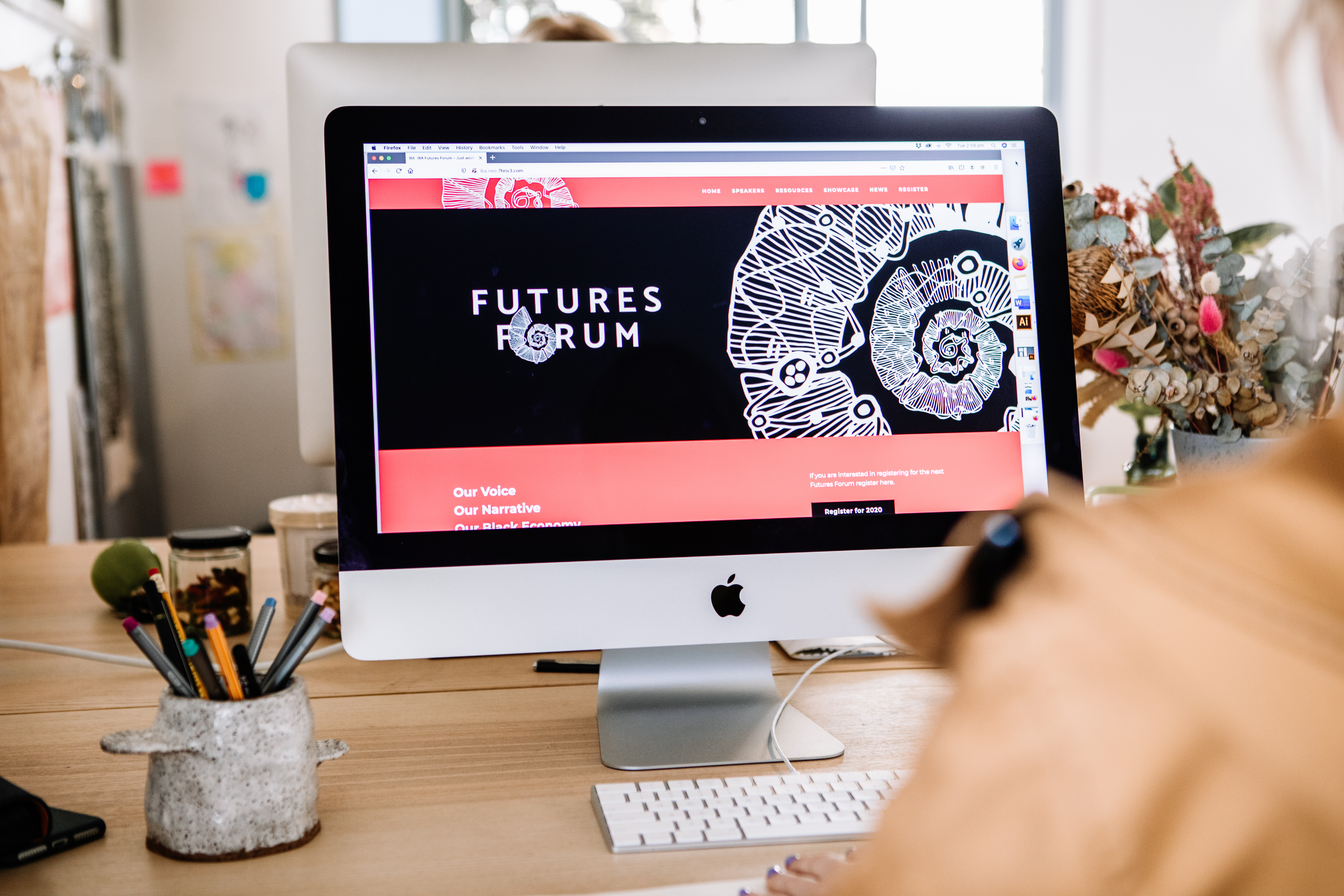 IBA Futures Forum website